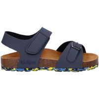 Chaussures Enfant Sandales et Nu-pieds Kickers 858543-30 SUNKRO Azul
