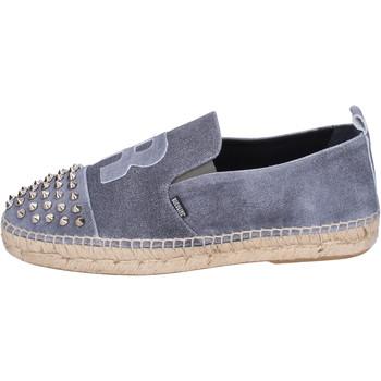 Chaussures Homme Espadrilles Rucoline BH381 Gris