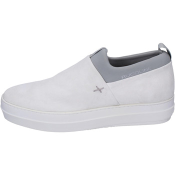 Chaussures Homme Slip ons Rucoline BH386 Blanc