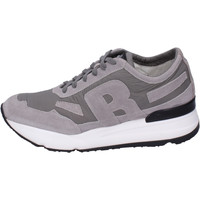 Chaussures Homme Baskets basses Rucoline BH391 Gris