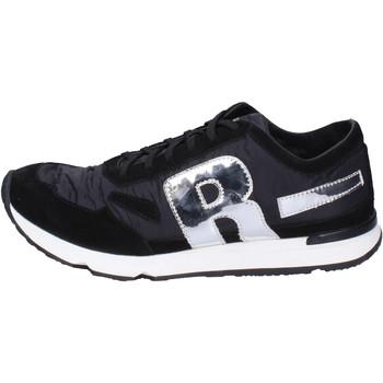 Chaussures Homme Baskets basses Rucoline BH395 Noir