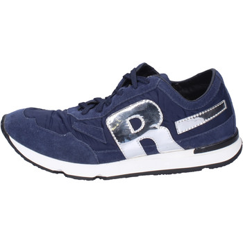 Chaussures Homme Baskets basses Rucoline BH396 Bleu