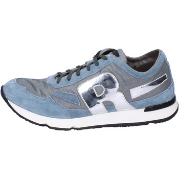 Chaussures Homme Baskets basses Rucoline BH397 Bleu
