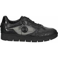 Chaussures Femme Baskets basses Bugatti Sneaker Schwarz Kombi