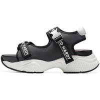 Chaussures Femme Sandales sport Ed Hardy - Aqua sandal iridescent charcoal Gris