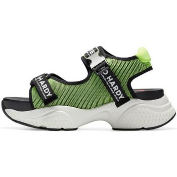 Chaussures Femme Sandales sport Ed Hardy - Aqua sandal green-black Vert