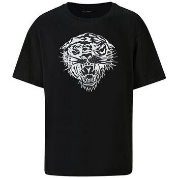 Vêtements Homme T-shirts manches courtes Ed Hardy - Tiger-glow t-shirt black Noir