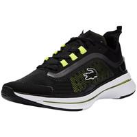 Chaussures Homme Baskets basses Lacoste Baskets Homme Run Spin Ultra  ref 53289 Noir/Jaune Noir