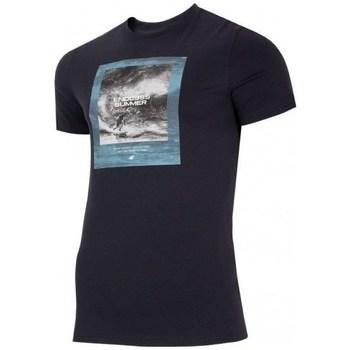 Vêtements Homme T-shirts manches courtes 4F TSM028 Noir