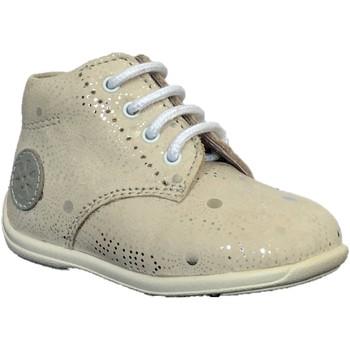 Chaussures Fille Boots Aster Ouki Blanc imprimé