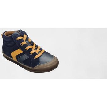 Chaussures Garçon Boots Bellamy BO MARINE SAFRAN