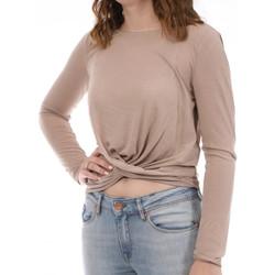Vêtements Femme T-shirts manches longues Vila 14064740 Beige