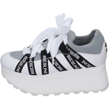 Chaussures Femme Slip ons Rucoline BH412 Blanc