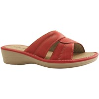 Chaussures Femme Mules Botty Selection Femmes MULE1621 ROUGE