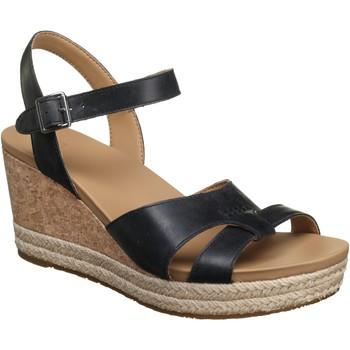 Chaussures Femme Sandales et Nu-pieds UGG Sandale compensée à plateforme Noir