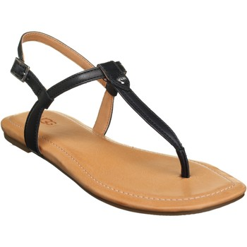 Chaussures Femme Sandales et Nu-pieds UGG Sandales plates à boucles Noir