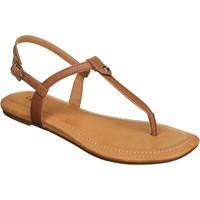 Chaussures Femme Sandales et Nu-pieds UGG Sandales plates à boucles Marron