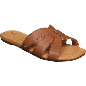 Chaussures Femme Mules UGG Mules femme à enfiler Marron