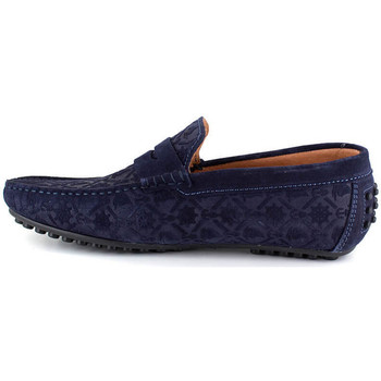 Chaussures Homme Mocassins J.bradford SUNDERLAND MARINE Bleu