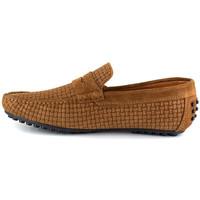 Chaussures Homme Mocassins J.bradford JB-SINAGOT COGNAC Marron