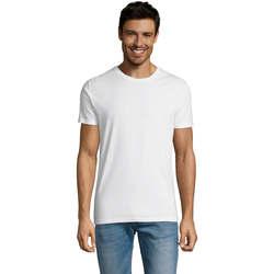 Vêtements Homme T-shirts manches courtes Sols Martin camiseta de hombre Blanco