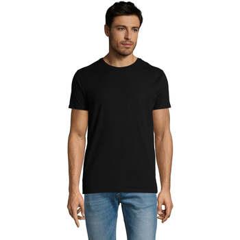 Vêtements Homme T-shirts manches courtes Sols Martin camiseta de hombre Negro