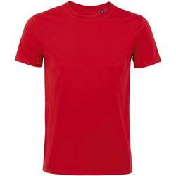 Vêtements Homme T-shirts manches courtes Sols Martin camiseta de hombre Rojo