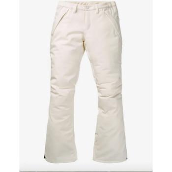Vêtements Femme Pantalons de survêtement Burton Pantalon WB Society Femme - Blanc Blanc