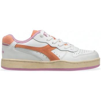 Chaussures Femme Baskets basses Diadora Baskets MI Basket Low Femme - Rose Rose
