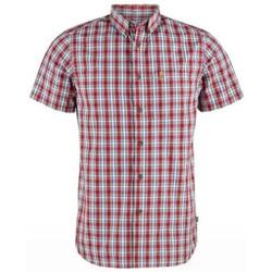 Vêtements Homme Chemises manches courtes Fjallraven Chemise Ovilk Homme - Rouge Rouge