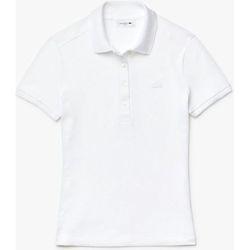 Vêtements Femme Polos manches courtes Lacoste Polo Best Femme - Blanc Blanc