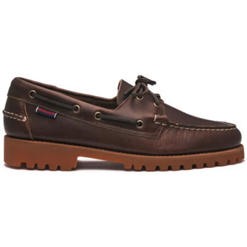 Chaussures Homme Chaussures bateau Sebago Chassures Ranger Waxy Gum Homme - Marron Marron