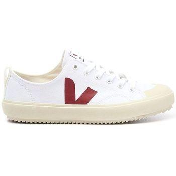Chaussures Homme Baskets basses Veja Baskets Nova Canvas Homme - Blanc Blanc