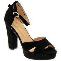 Chaussures Femme Sandales et Nu-pieds Nobrand ART 116 Talons-Hauts Multicolore