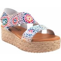 Chaussures Femme Sandales et Nu-pieds Eva Frutos Sandale dame  724 bl.azu Rouge