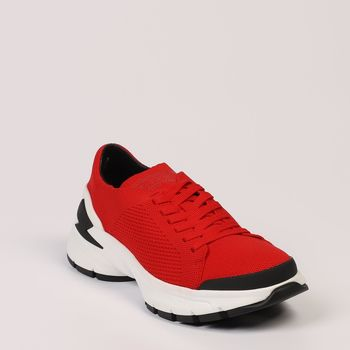 Chaussures Homme Baskets basses Neil Barrett Andie Rouge