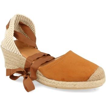Chaussures Femme Sandales et Nu-pieds Shoes&blues SB-22005 Camel