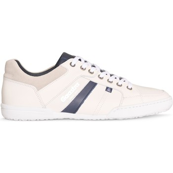 Chaussures Homme Baskets basses Gaastra Milan Wit/Navy Blanc