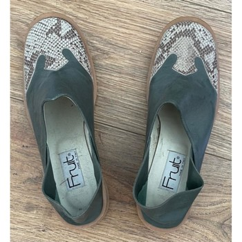Chaussures Femme Mocassins Now chaussures Vert