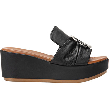 Chaussures Femme Mules Inuovo Sandales Schwarz