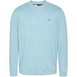 Vêtements Homme Pulls Tommy Jeans Pull en maille  ref 52898 Blue Chlorine Bleu