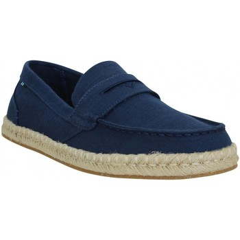 Chaussures Homme Espadrilles Toms Stanford toile Homme Navy Bleu