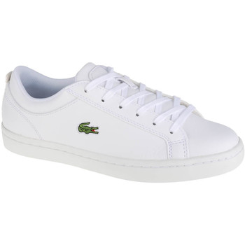 Chaussures Femme Baskets basses Lacoste Straightset BL1 Blanc
