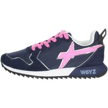Chaussures Femme Baskets basses W6yz 0012013563.01. Bleu/Fuchsia