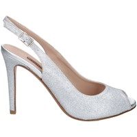 Chaussures Femme Sandales et Nu-pieds Albano 4035 Argenté