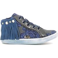 Chaussures Fille Baskets montantes Lulu LS150014S Bleu