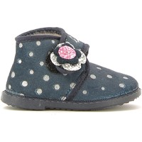 Chaussures Enfant Chaussons Lulu LI220001S Bleu