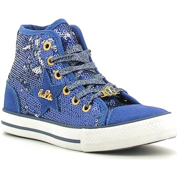 Chaussures Fille Baskets montantes Lulu LV010070T Bleu