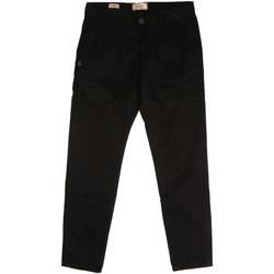 Vêtements Homme Chinos / Carrots Gaudi 721BU25006 Noir