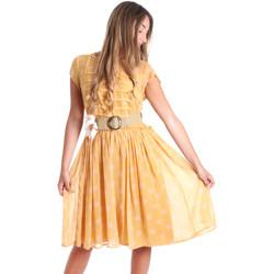 Vêtements Femme Robes courtes Fracomina FR20SMORIANA Jaune